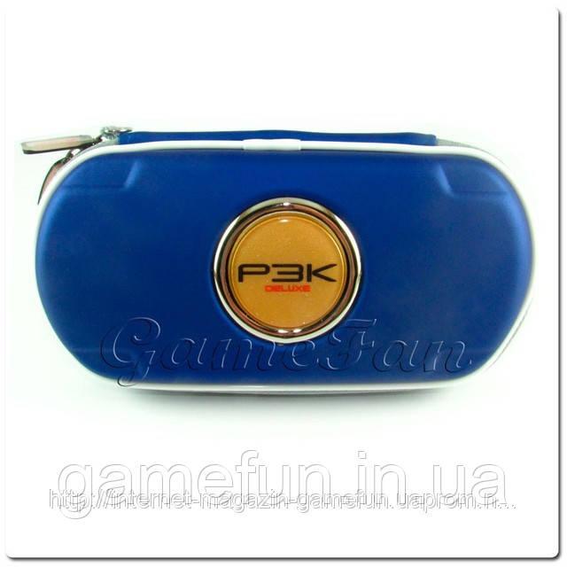 PSP сумка жёсткая P3K Deluxe (Blue)