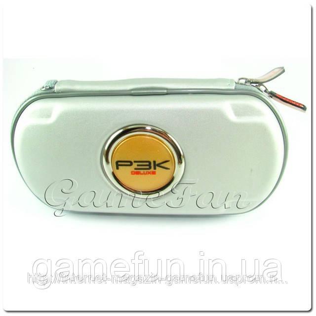 PSP сумка жёсткая P3K Deluxe (Silver)
