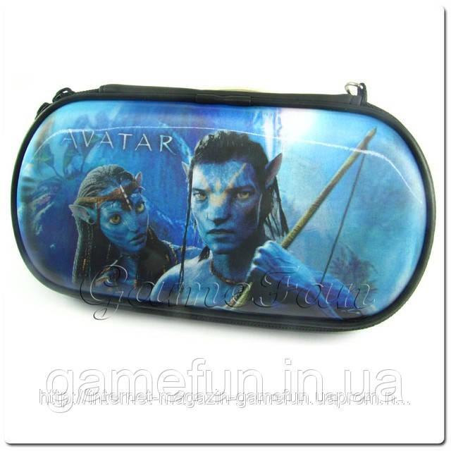 PSP сумка жёсткая 3D голограмма (Avatar)