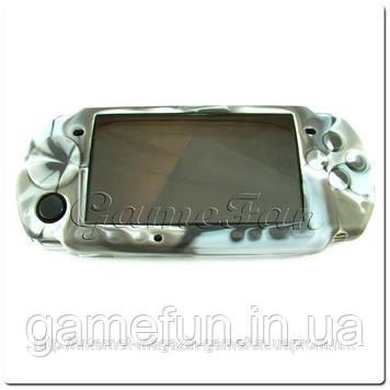 Силіконовий чохол для PSP (камуфляж)(Grey-brown)