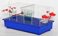 Клетка для птиц Дует Мини, цельная 560х300х290 мм
