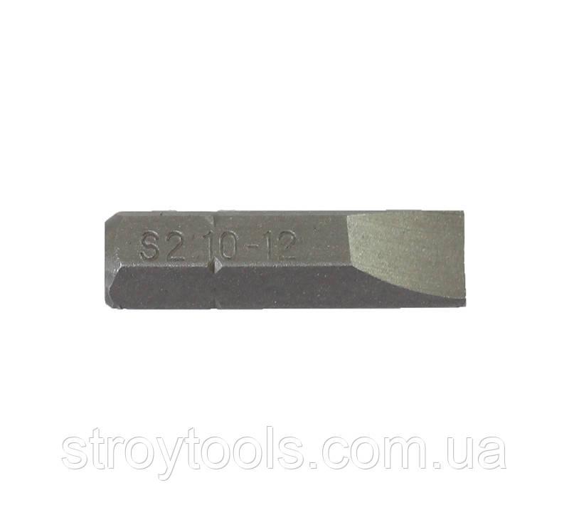 Набор бит, шлиц прямой,упаковка 10шт.25мм.,TRUPER, DES-P1012-1.Киев.