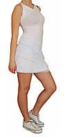 Спортивная женская туника Adidas №68266 белая