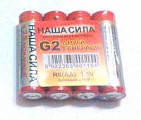 Батарейки АА  4шт. (пальчикові)