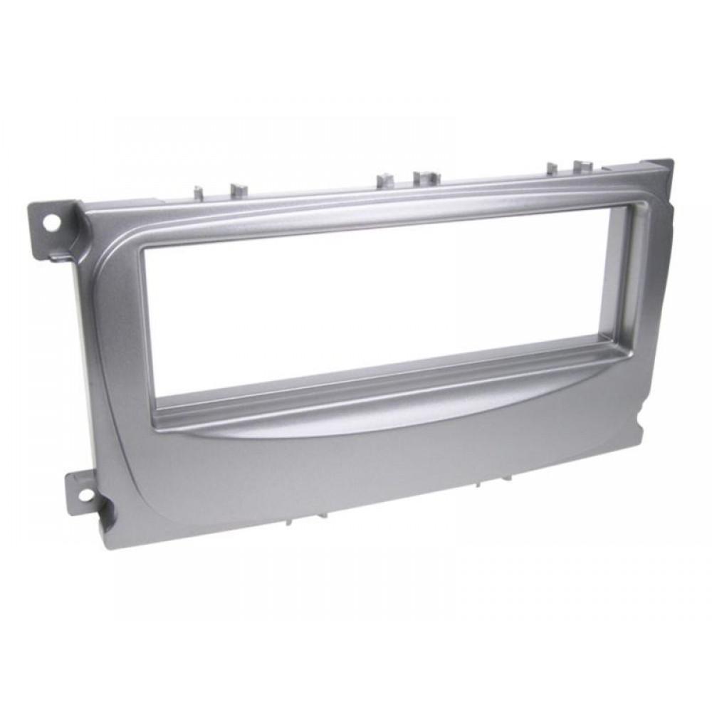 Рамка переходная ACV 281114-17 Ford Mondeo/ Focus/ C-MAX/ S-MAX/ Galaxy(silver)