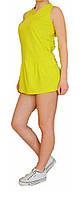 Спортивная женская туника Adidas №68255 лимон