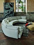 Італійський модульний радіусний диван Kong фабрики Swan Italia, фото 2