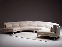 Итальянский модульный радиусный диван Kong фабрики Swan Italia