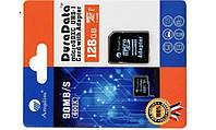 Miсro-SDHC memory card 128Gb Amplim  Class10 + SD адаптер 90MB/s 600X