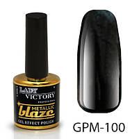 Металлический лак с эффектом гель-лака GPM-100