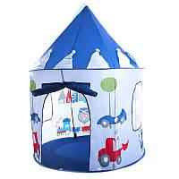 """Большая детская игровая палатка шатёр """"Baby Tent"""" 135см х 105см 2 цвета"""