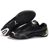 Puma Ferrari Low Black Demi White W