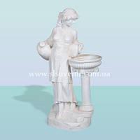 Декоративный фонтан скульптура для интерьера дома и сада Нереида