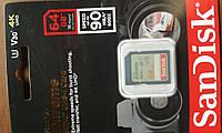 Miсro-SDHC memory card 64Gb Amplim  Class10 + SD адаптер 90MB/s