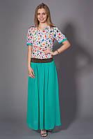 Женская блуза шифоновая с принтом