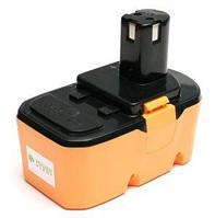 Аккумулятор PowerPlant для шуруповертов и электроинструментов RYOBI GD-RYO-18(A) 18V 3.3Ah NIMH DV00PT0046