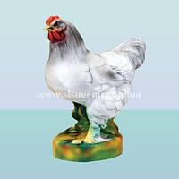 Садовая фигура, ландшафтная декоративная скульптура для сада Курица