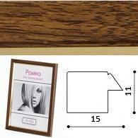 Пластиковая фото рамка h1511-97 коричневая 10x15 см для фотографии