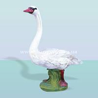 Садовая ландшафтная фигура, скульптура для сада Лебедь