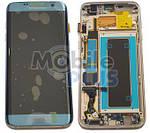 Samsung SM-G935F Galaxy S7 Edge Дисплейный модуль с сенсором, Blue, original (PN:GH97-18533G)