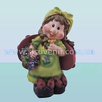 Садовая ландшафтная фигура, скульптура для сада Майя с виноградом