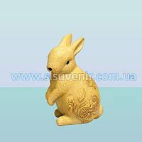 Садовая ландшафтная фигура, скульптура для сада Кролик ажурный
