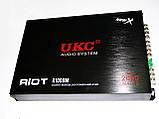 Усилитель 4 канальный UKC 2000W RIOT, фото 2