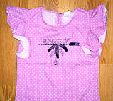 Блузки футболки для девочек рост 122, ТМ Glo-Story GCS-8550, фото 3