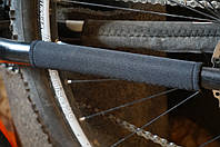 Защита пера от ударов цепи