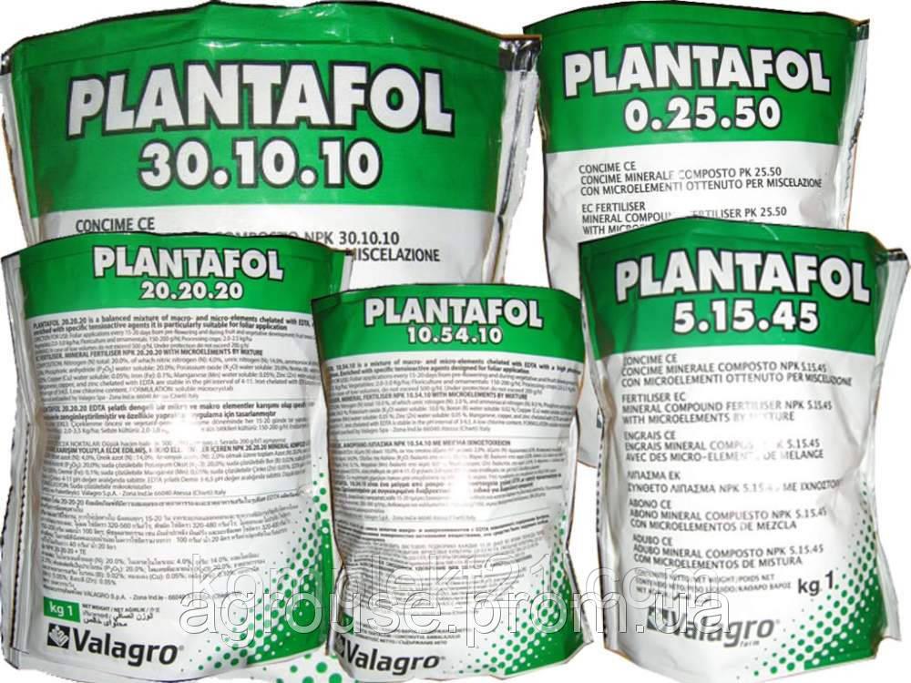 Удобрение Плантафол (Plantafol) 30:10:10 (начало вегетации) 1кг. листовая подкормка