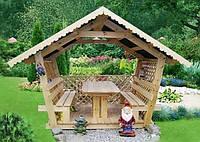 Беседки для дачи, беседки для сада, беседки из дерева, фото 1