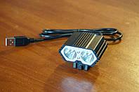 Велофара USB, диоды XM-L U2
