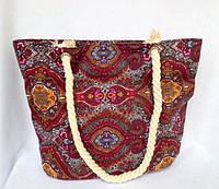 Пляжная текстильная летняя сумка для пляжа и прогулок Восток