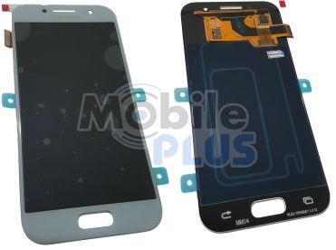Samsung SM-A320 Galaxy A3 2017 Дисплейный модуль c сенсорным экраном, Blue, original (PN:GH97-19732C)