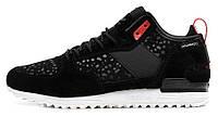 Мужские кроссовки Adidas Originals Runner Black (Адидас Ориджинал) черные