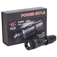 Фонарь ручной аккумуляторный Bailong BL-8455-CREE Police 3000W