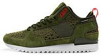 Мужские кроссовки Adidas Originals Runner Green (Адидас Ориджинал) хаки