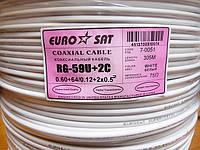 Комбинированный кабель EuroSat RG-59U+2C