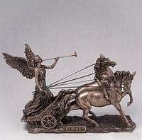 """Статуэтка """"Ника в колеснице"""" (26*19 см) Veronese Италия"""
