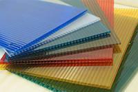 Сотовый поликарбонат SOTON (Сотон) 4мм цветной