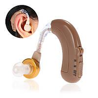 Аккумуляторный слуховой аппарат Axon C-109, усилитель слуха с зарядным устройством