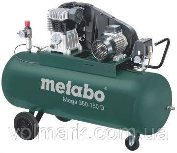 Компрессор Metabo Mega 350-150 D, фото 2