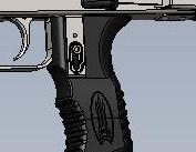 Буллпап для АК47 АКС74 с предохранителем на тактической рукоятке