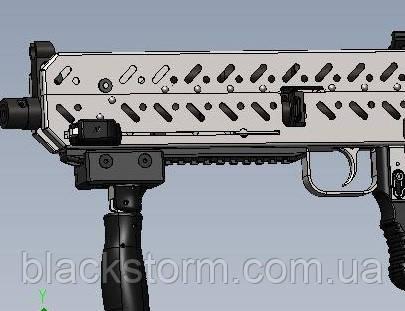 Буллпап для АК47 АКС74 с затворной задержкой