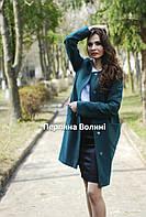 Женское пальто с вышивкой ПА 6056-2,пальто,жіноче пальто, пальто з вишивкою, вишите пальто