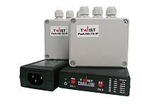 Комплект усилителей для двухканальной передачи видеосигнала TWIST PwA2-HD