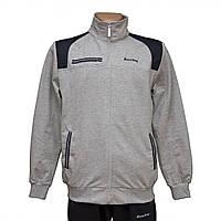 Трикотажный мужской серый спортивный костюм пр-во Турция FM14668-6