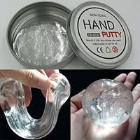 Прозрачный умный пластилин Хендгам Hand Putty