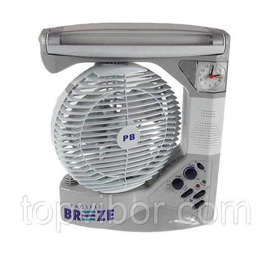 Настольный многофункциональный вентилятор PACIFIC BREEZE 6 IN 1 EL-2102 - ТОП-ВЫБОР! www.topvibor.com в Киеве