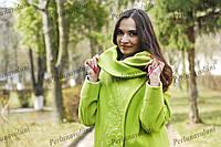 Женское пальто с вышивкой ПА 16056